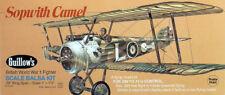 Balsa wood airplane model Sopwith Camel Guillows 801