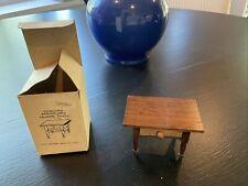 VINTAGE Concord MINIATURES Vintage Wooden Dollhouse TAVERN TABLE