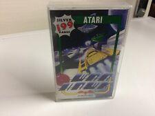 Vintage Atari 800 800xl 130xe War juego de cassette Hawk Plata 199 Gama Raro