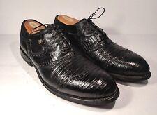 FOOTJOY Classics Men's Wingtip Shieldtip Lizard Skin Golf Shoes Size 10.5 EXOTIC