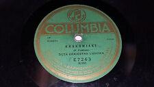 "DETA ORKIESTRA LUDOWA Polish Polskie 10"" 78 Columbia E7263 RARE Krakowiaki"