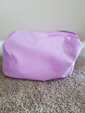 Purple Nylon Make Up Bag - Inside Polka Dot