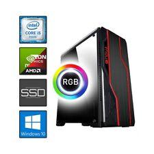 NOOB COMPUTER ASSEMBLATO GAMING I5 3470 RAM 8GB SSD 120GB HDD 1TB RGB-