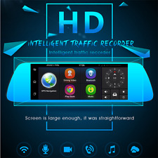 7 inch 3G Wifi Car Camera DVR GPS Bluetooth Dual Lens Rearview Mirror Recorder