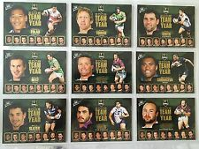 2009 Select  NRL Classic Team of The Year Set of 9 TY1-9
