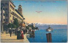 54731 -- CARTOLINA d'Epoca - LAGO di GARDA: Gardone Riviera  1911