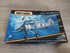 Matchbox 1/72 Fairey Swordfish II/III model kit 40120