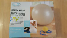 Athletic Works 65 cm body ball w/ pump Exercise balance core muscles