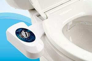 Astor Bidet Fresh Water Spray Non-Electric Mechanical Bidet Toilet Seat