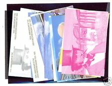 NEVIS 438/441 Twelve Progressive Color Proofs All Different - Orig Cost $47.50