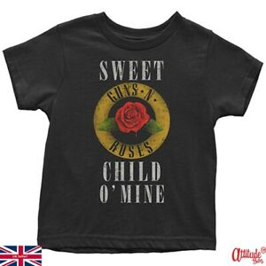 Guns N Roses Baby & Toddler T Shirt-Sweet Child O Mine Official-Kids Rock Tees