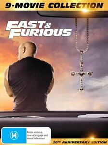 Fast and Furious 1-9 - Limited Edition | Digipack - 9 Movie Franchise Pack DVD