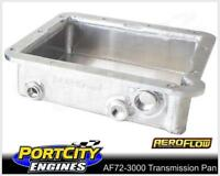 "Aeroflow Fabricated Alloy Transmission Pan Suit Ford C4 3"" Deep AF72-3000"