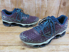 Mizuno Wave Prophecy 3 Purple Blue Running Shoes Women's sz 9