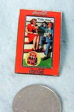 WILLABEE & WARD PIN COCA COLA COKE TIME