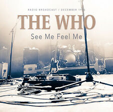 THE WHO New Sealed 2019 LIVE 1975 PONTIAC CONCERT CD