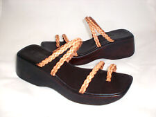 Esprit Delphina toe ring sandal leather sz 8.5 Med NEW