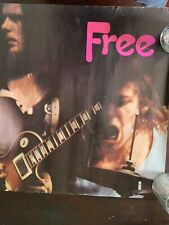 Paul Rodgers Free Concert (Uk) Poster 1970's Island Records Fantastic