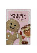 Too Faced Gingerbread Bronzed & Kissed Full Size Bronzer and Lipstick Gift Set