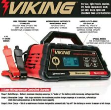 VIKING 15 Amp MICROPROCESSOR CONTROL 6/12 VOLT Fully Automatic BATTERY CHARGER