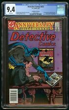 DETECTIVE COMICS #572 (1987) CGC 9.4 CANADIAN PRICE VARIANT CPV WHITE PAGES