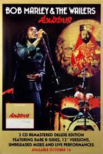 Bob Marley & The Wailers - Exodus (1977) original album promo poster -ss- rolled
