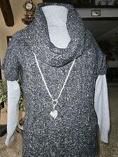OPUS Long-Pullover Weste Palmira Größe M L