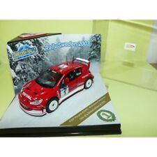 PEUGEOT 206 WRC RALLYE DE SUEDE 2003 M. GRONHOLM VITESSE 43007 1:43 1er