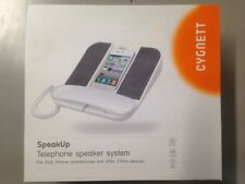 BRAND NEW GENUINE Cygnett SpeakUp Desktop phone Speaker System iPhone & Android