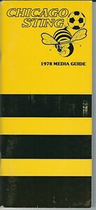 1978 Chicago Sting Media Guide, NASL soccer