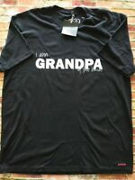 Grandpa Of The Bride T Shirt Size XL New With Tags