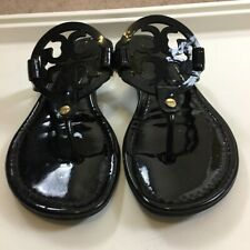 Miller Sandal, Patent Leather: Women's Shoes Tory Burch Black