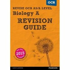 REVISE OCR AS/A Level Biology Revision Guide (with online edition): for the 2015 qualifications by Colin Pearson, Kayan Parker (Mixed media product, 2016)
