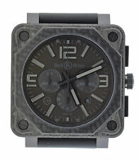 Bell & Ross Aviation Phantom Chronograph LE Carbon Fiber Watch BR0194-CA-FIB