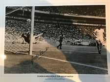 GORDON BANKS SIGNED PELE SAVE OF THE CENTURY B2 Size PHOTO FROM HIS AGENT £12