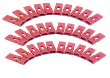 200 pcs Jumper Caps 2.54mm Mini Red color Header with handle Circuit Board Shunt
