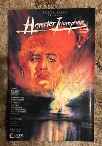 Clint: The Hamster Triumphant # 2 Eclipse 1986