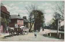 East Acton Road, London 1906 Postcard B814
