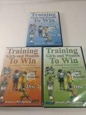 Soccer Learning Systems, Training Girls And Women To Win Disc 1,2 & 3 Dvd'S