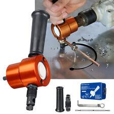 5pcs Double Head Sheet Metal Nibbler Saw Cutter Cutting Tool Drill Attachment