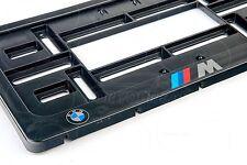 BMW M LOGO Auto FRAME USA for LICENSE PLATE PLATES M3 M5 E46 E39 E90 X5M M6 F10