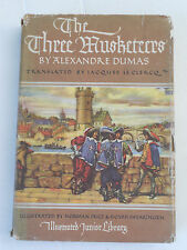 9D - THE THREE MUSKETEERS GROSSET & DUNLAP PUBLISHER 1953