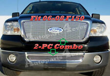 06 07 08 2007 2006 2008  Ford F150 Billet Grille 2PC Logo Show