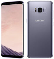 "Samsung Galaxy S8 SM-G950U 64GB Orchid Gray 5.8"" Android (Unlocked) Smartphone"