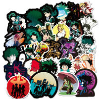 100Pcs My Hero Academia Stickers Bomb For Laptop Skateboard Luggage Car Decals