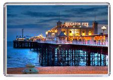 Brighton Pier Fridge Magnet 01