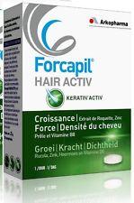Forcapil Hair Active 30 caps - Slows down hair loss and stimulates hair growth
