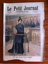 ?Le petit Journal 1/4/1893; Mme Cottu devant la cour d'assises/ Mort de J Ferry