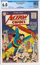 "ACTION COMICS #210 CGC 6.0 ""FINE"" Superman DC  1955 Congo Bill"