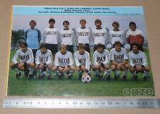 CLIPPING POSTER FOOTBALL 1980-1981 D2 STADE QUIMPEROIS QUIMPER BREIZH